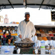 Cooked Snails for sale at Djemaa El Fna Square in Marrakesh — Stock Photo #8015978