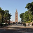 KoutoubiMosque in Marrakesh, Morocco — Stock Photo #8016022