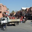 Street scene in Marrakesh, Morocco - Foto de Stock