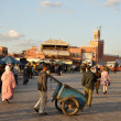 Djemaa el Fna square in Marrakech, Morocco. — Stock Photo #8016470