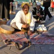 Snake charmer at Djemaa el Fna square in Marrakesh — Stock Photo #8016569
