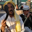 Snake charmer at Djemaa el Fna square in Marrakech — Stock Photo