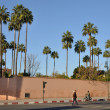 Old city wall in Marrakesh — 图库照片