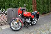 Alte klassische Bmw r45 Motorrad von 1980. — Stockfoto