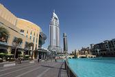 Dubai Mall and the Address Hotel — Stock Photo