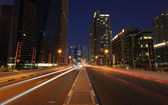 Road in Dubai Marina — ストック写真