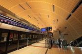New Metro Station in Dubai — Stock Photo