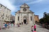 Cathedral of St. James in Sibenik, Croatia — Foto Stock
