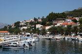 Adriyatik resort brela, hırvatistan. — Stok fotoğraf