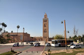 Koutoubia moskee in marrakesh, marokko. — Stockfoto