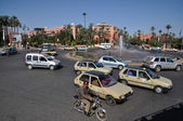 Street scene in Marrakesh — Foto Stock