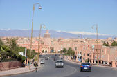 Ville d'ouarzazate au Maroc. — Photo