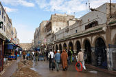 Street scene in the Medina of Essaouria, Morocco — Stockfoto