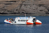 Subcat tourist submarine in Morro Jable, Fuerteventura Spain — Stockfoto