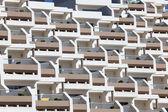 Modern building facade made of concrete — Stock Photo
