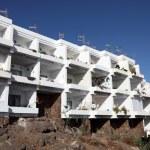 Apartment building on Canary Island Fuerteventura, Spain — Stock Photo
