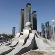 New downtown district West Bay in Doha, Qatar — Stock Photo #8686327
