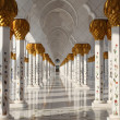 Sheikh Zayed Mosque in Abu Dhabi - Foto Stock