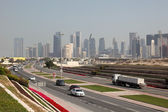 Highway in Doha, Qatar. — Stock Photo