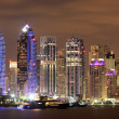 Stock Photo: Dubai Marinat night