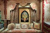 Beautiful Kashmir carpets for sale — Stock Photo