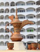 Arabic Coffee Pot Monument in Fujairah, United Arab Emirates — Stock Photo
