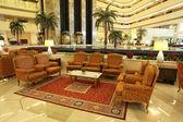 Interior of the luxury Sheraton Hotel in Doha, Qatar. — Stock Photo