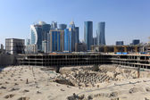 Construction site in Doha downtown, Qatar — Stockfoto
