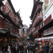 yuyuan bazar in the old town of shanghai, china — Stock Photo