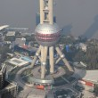 Oriental Pearl Tower in Shanghai, China — Stock Photo #9336854