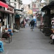 Street in the old town of Shanghai, China — Stock Photo #9337235