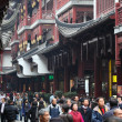 Yuyuan Bazar in the old town of Shanghai, China — Stock Photo #9338186