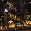 City of Shanghai at night, China - Lizenzfreies Foto