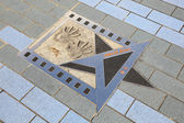 Movie Star Jackie Chan at the Avenue of Stars in Hong Kong — Stock Photo