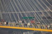 Ting Kau Bridge in Hong Kong — Stockfoto