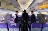 Stewardessy linii lotniczych china — Zdjęcie stockowe