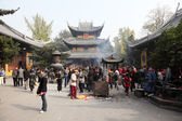 Longhua Temple in Shanghai, China — Stock Photo