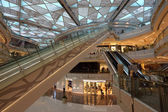 Interior of the IFC Mall in Pudong, Shanghai, China — Stock Photo