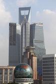 Rascacielos de shangai, china — Foto de Stock