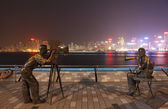Avenue of Stars in Hong Kong — Stock Photo