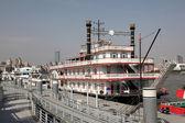 Vintage gezi tekneleri, shanghai, çin — Stok fotoğraf