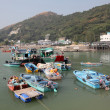 Fishing village Tai O at Lantau island in Hong Kong — Stock Photo