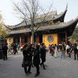 Longhua Temple in Shanghai, China - Stock Photo
