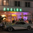 The Avalon Hotel in Miami South Beach Art Deco District, Florida - 图库照片