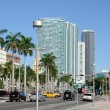 Biscayne Boulevard in Downtown Miami, Florida — Stock Photo #9341531