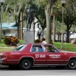 Independent Taxi in St. Petersburg, Florida USA - Stock Photo