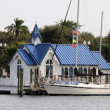 Floating Chapel by the Bay, St. Petersburg in Florida USA — Stock Photo #9342050
