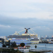 Cruise ships in Port of Miami, Florida — Stock Photo