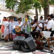 Stock Photo: Traditional singers in Pueblo Canario, Doramas Park, Las Palmas de GrCanaria