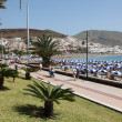 Promenade in Canary Islands Resort Los Cristianos, Tenerife — Stock Photo